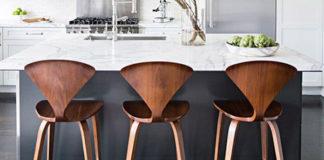 Krzesła do kuchni w stylu skandynawskim